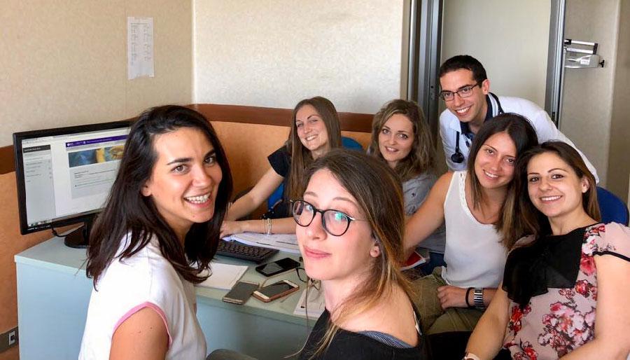 Intervista alla squadra dell'Università la Sapenza - Roma - Ospedale Sant'Andrea