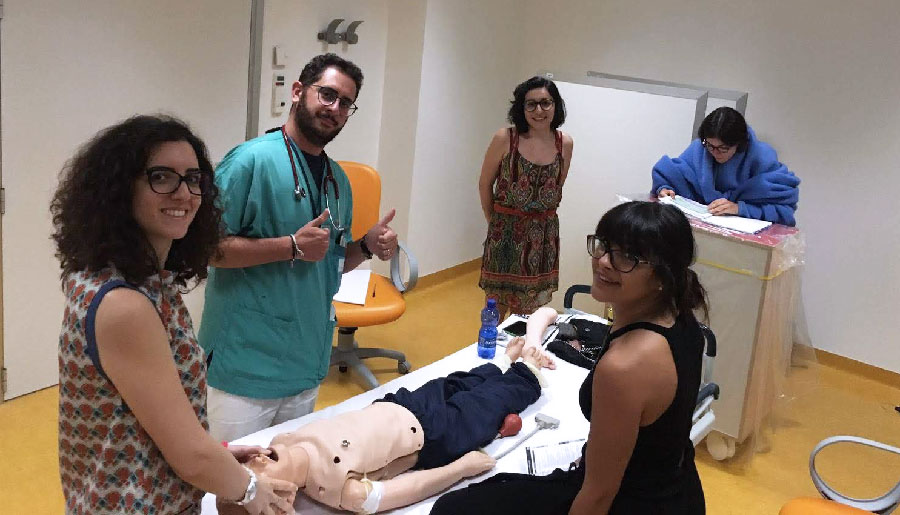 Intervista alla squadra dell'Università di Verona - Pediatric Simulation Games