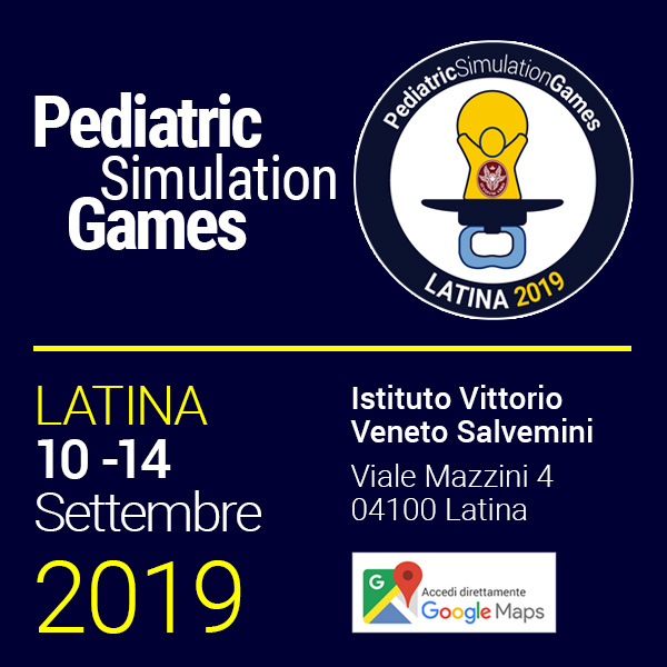 Pediatric Simulation Games 2019