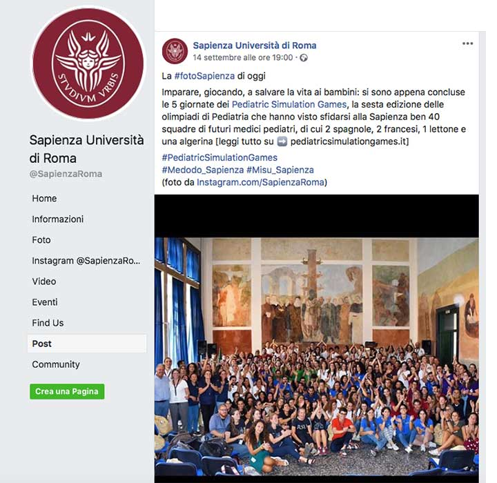 sapienza-facebook