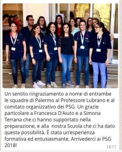 Saluti da Palermo PSG 2017